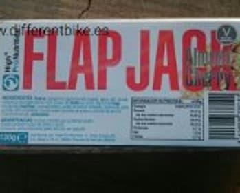 FLAP JACK - Almond Cherry