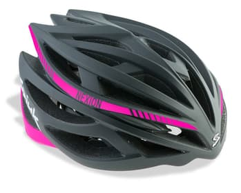 Casco SPIUK NEXION Color Negro / Rosa. CNEXI1606
