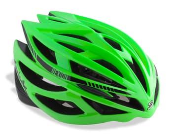 Casco SPIUK NEXION Color Verde / Negro. CNEXI1605