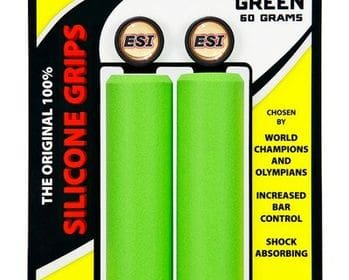 Puños para MTB de Silicona, Esigrips CHUNKY color Verde