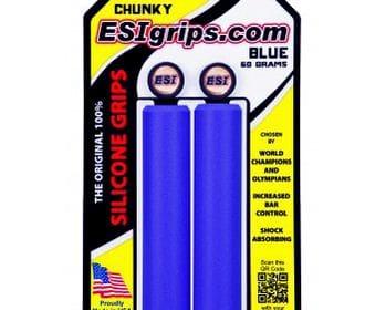 Puños para MTB de Silicona, Esigrips CHUNKY color Azul