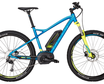 Bicicleta MTB E-Bike Bull SIX 50 E1 Color Blue Matt.