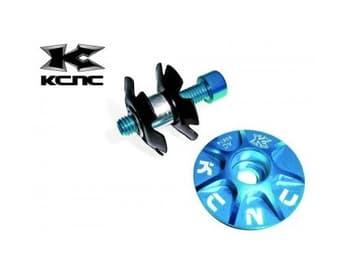 KCNC Tapa de dirección 1 1/8'' aluminio con tornillo Modelo  RP582