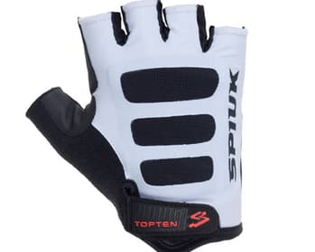 Guantes Spiuk Top Ten Road. Color Blanco GCT016RA.
