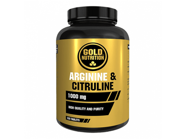 Gold Nutrition Arginine & Citruline 100 Comprimidos