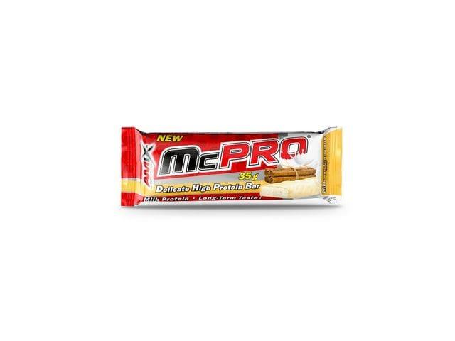 Amix McPro Protein Bar 1 barrita x 35 gr Sabor Canela