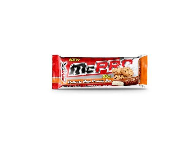 Amix McPro Protein Bar 1 barrita x 35 gr sabor crema de galletas