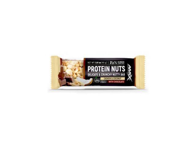 Barrita Protein Nuts Bar 1 x 40 gr Sabor Anacardo y Coco