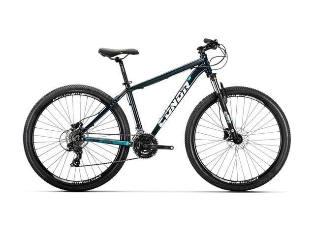 Bicicleta Conor 6300 Disc Aluminio 27´5 Pulgadas Azul Oscuro Verde 2021