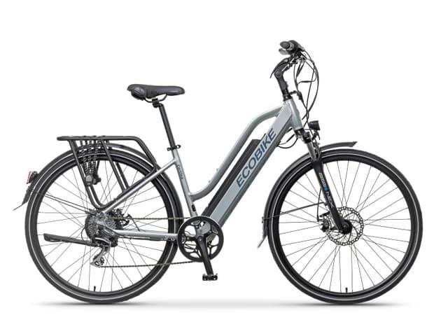 La Bicicleta Ecobike Cortina es una E-BIKE urbana y de trekking de nueva generación