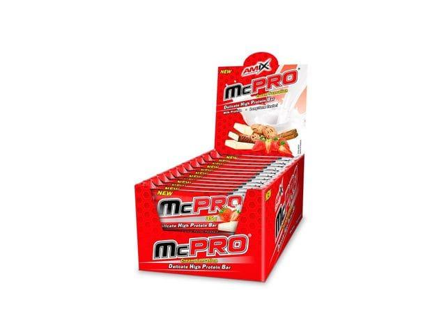 Amix McPro Protein Bar 24 barritas x 35 gr 26% Proteínas