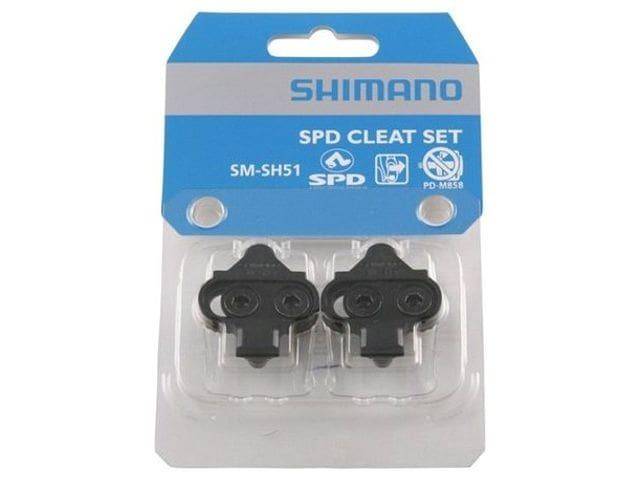 Shimano calas SPD originales sin chapa SM-SH51