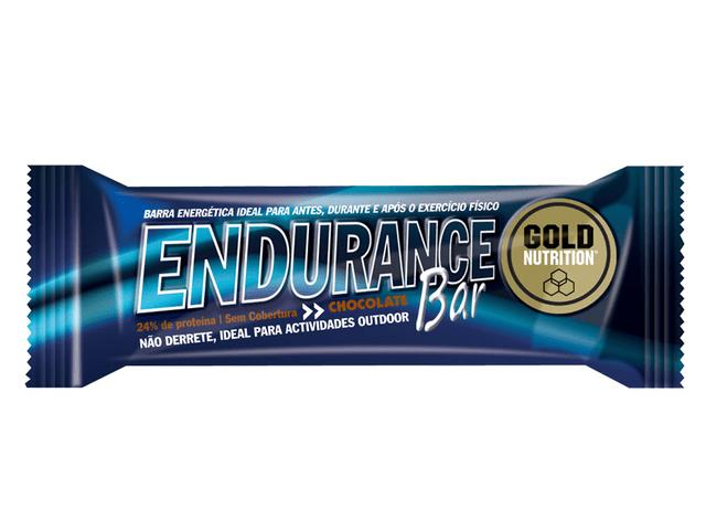 Barrita energética Gold Nutrition Endurance Bar sabor Chocolate
