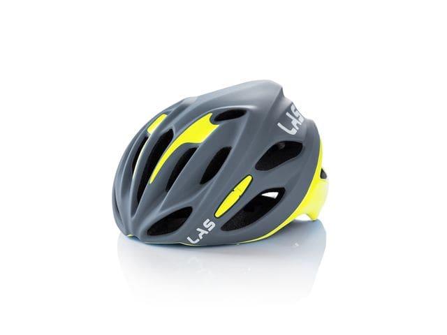 LAS COBALTO Helmet - GRIS MATE/AMARILLO