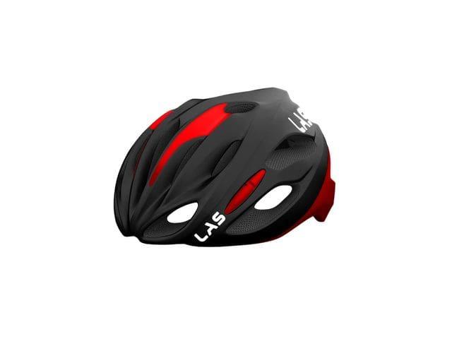 LAS COBALTO Helmet - NEGRO MATE/ROJO