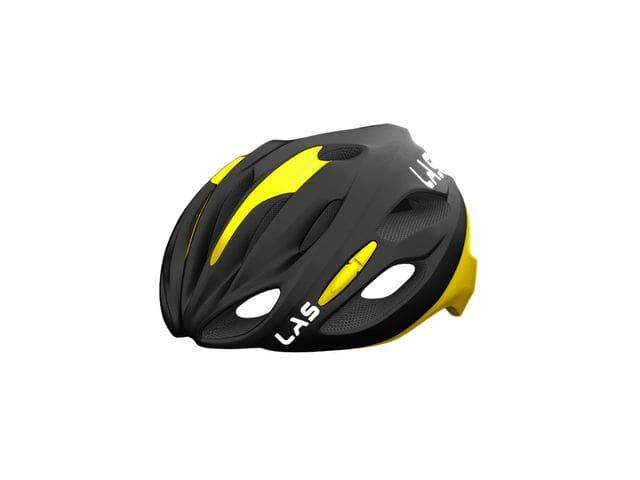 LAS COBALTO Helmet - NEGRO MATE/AMARILLO