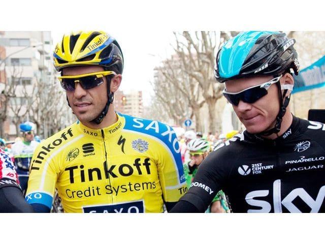 Froome, Contador y Valverde. Los tres grandes Favoritos.