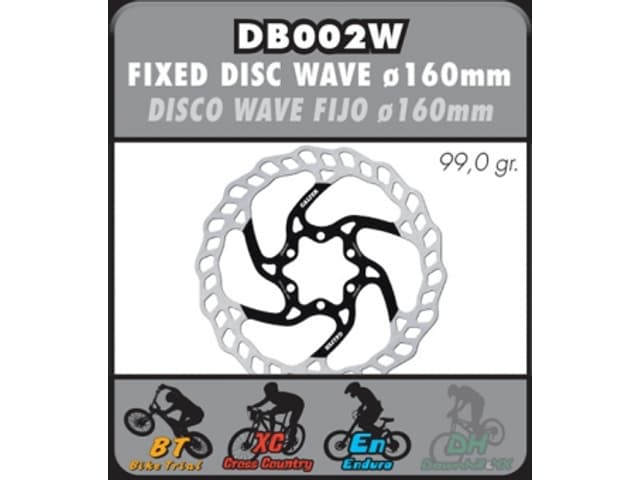 DISC GALFER 160 mm Bike  DB002W