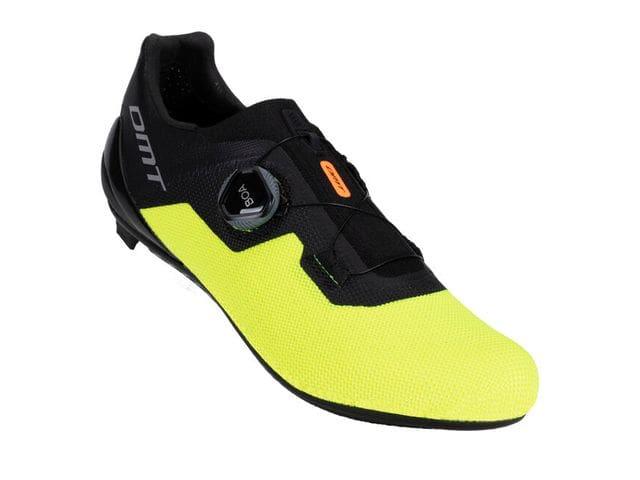 DMT Zapatillas Carretera KR4 color Negro/Amarillo Flúor