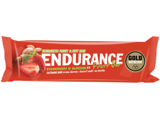 Gold Nutrition Endurance Fruit Bar Almendra-Fresa