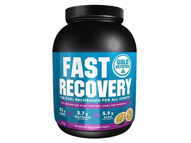 Batido Gold Nutrition Fast Recovery sabor Fruta de la Pasión 1 kg