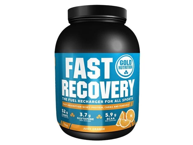 Batido Gold Nutrition Fast Recovery sabor naranja 1 kg