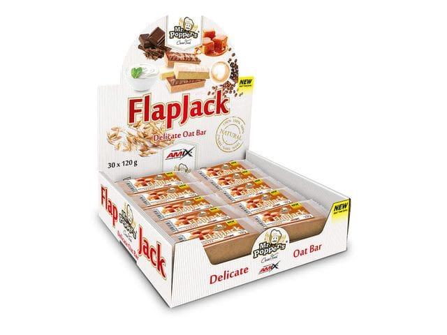 FlapJack Oat Bar, Cappuccino  CAJA DE 30 UNIDADES