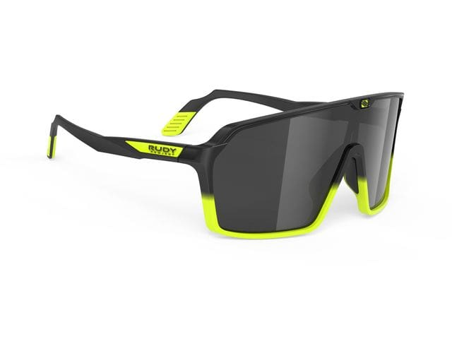 Gafas Rudy Project Spinshield Black Fade Yellow Fluo Matte - Rp Optics Smoke Black