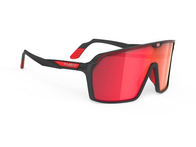 Gafas Rudy Project Spinshield Black Matte-Rp Optics Multilaser Red