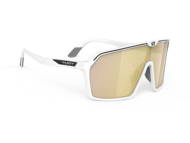 Gafas Rudy Project Spinshield Blanco mate - Rp Optics Multilaser Gold