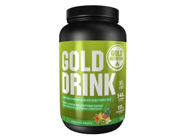 Bebida isotónica Gold Nutrition Gold Drink sabor frutas tropicales (1 kg)