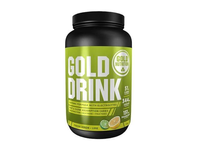 Bebida isotónica Gold Nutrition Gold Drink sabor lima-limón (1 kg)