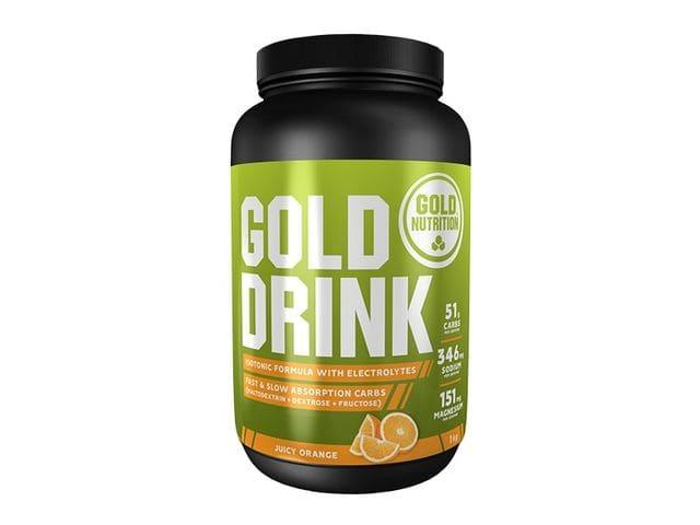 Bebida isotónica Gold Nutrition Gold Drink sabor naranja (1 kg)
