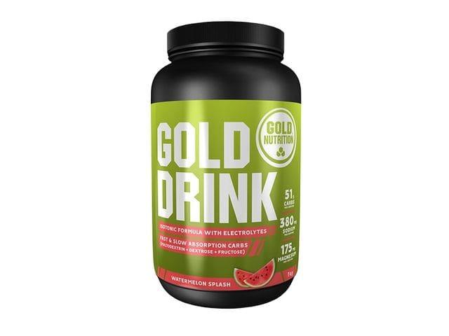 Bebida isotónica Gold Nutrition Gold Drink sabor sandía (1 kg)