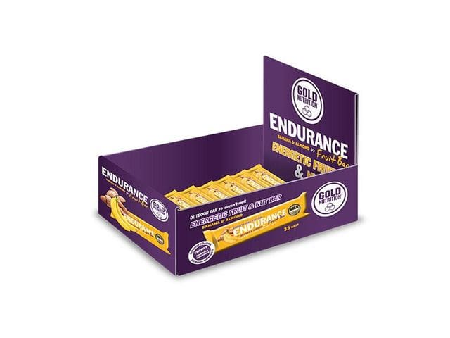 Endurance Fruit Bar/ Caja de 35 barritas energéticas