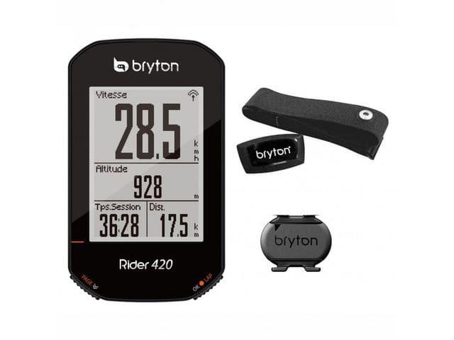 GPS BRYTON RIDER 420 T + HRM + Cadencia