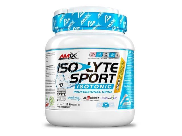 Bebida isotónica Amix Isolyte Sport sabor mango 510 gr
