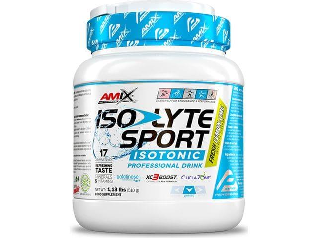 Bebida isotónica Amix Isolyte Sport sabor Lima/ Limón 510 gr