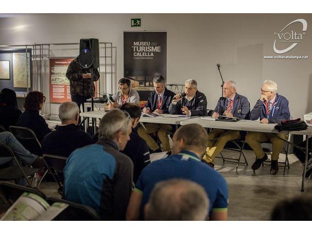 La ''Volta'' Ciclista a Catalunya començarà demà a Calella per cinquè any consecutiu.