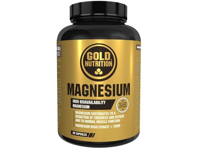 MAGNESIUM de GOLD NUTRITION-60 Cápsulas