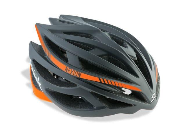 Casc SPIUK NEXION Color Negre / Taronja CNEXI1607.
