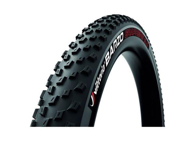 Cubierta/Neumático de MTB Vittoria Barzo . TNT tubeless ready plegable negro.
