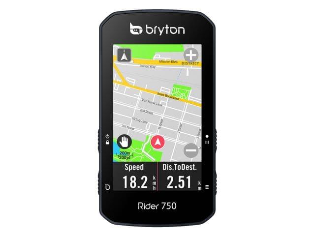Nuevo GPS Bryton Rider 750