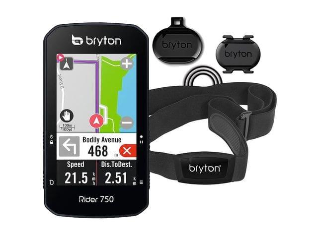 BRYTON RIDE 750 T con sensor de cadencia y sensor de frecuencia cardíaca
