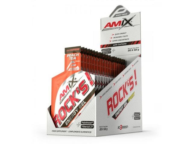 Rock's Energy Sport Gel Peach Tea