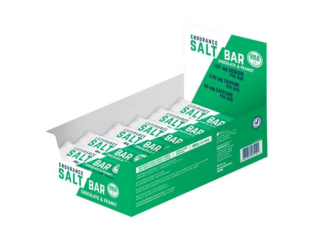Barrita Endurance Salt (40g) - Chocolate y Cacahuetes
