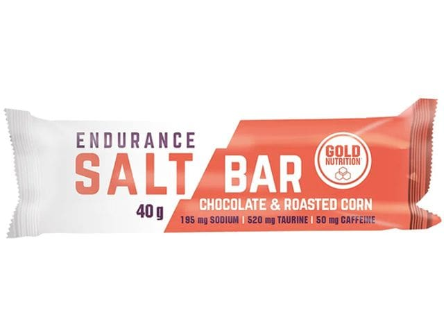 Barrita energética Gold Nutrition Endurance Salt Bar
