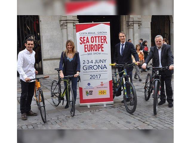 Sea Otter Europe, uno de los festivales del sector de la bicicleta más grandes del mundo, que llega a Girona en 2017.