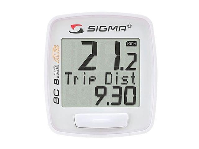 Ciclocomputador Sigma BC 8.12 ATS