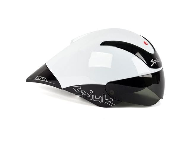 Casc SPIUK AIZEA de crono y triatló COLOR Blanc/ Negre CAIZEA01.